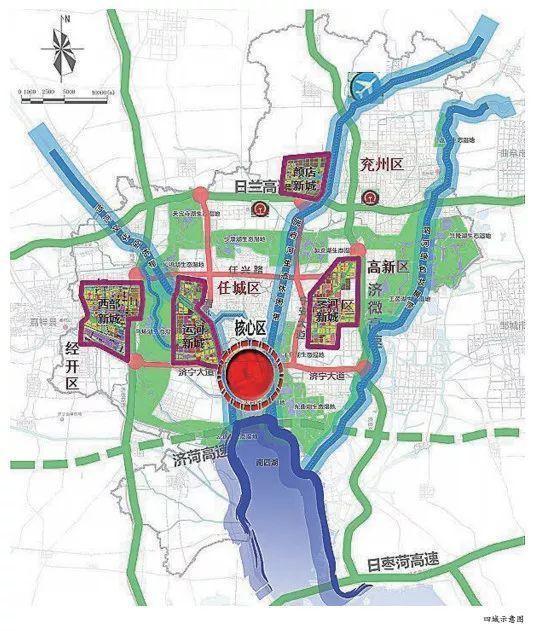 运河新城如何定位?产业配套如何布局?都有哪些重点项目?先看一张新城规划图!    从规划图我们看到,运河新城东起京杭运河、西外环路,西至安居大道,北起任城大道,南至济宁大道。未来以信息产业、商贸物流等产业发展为重心。   目前运河新城重点推进项目有凤凰台植物公园、京杭运河两岸道路绿化景观工程、第一人民医院西院区、霍家街小学毅德校区、安居高中、安居第一中心中学等。同时,道路延拓方面,将推进洸河路、红星路、常青路等道路西延,实施龙行路、京杭路跨运河工程,打通西岸路、西三路、安定路等,形成完整的新城框架。  (